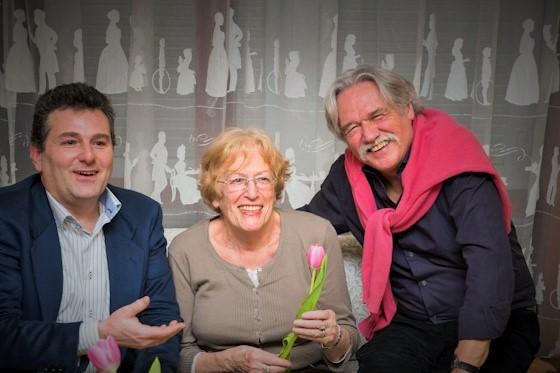 Vincent de Gaulejac, Jacqueline Barus-Michel y Fernando de Yzaguirre.