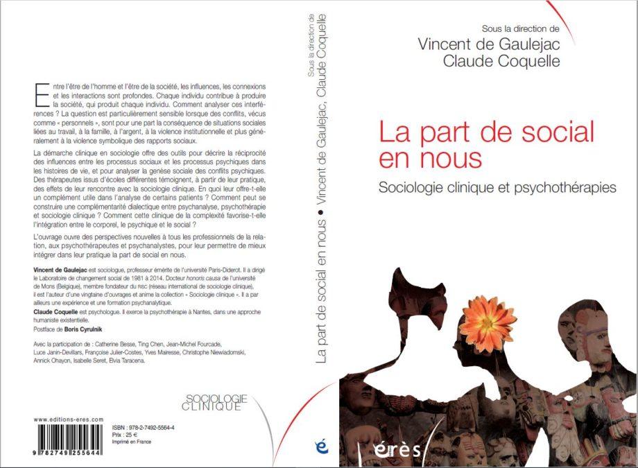 LA PART DE SOCIAL EN NOUS – Sociologie clinique et psychothérapies