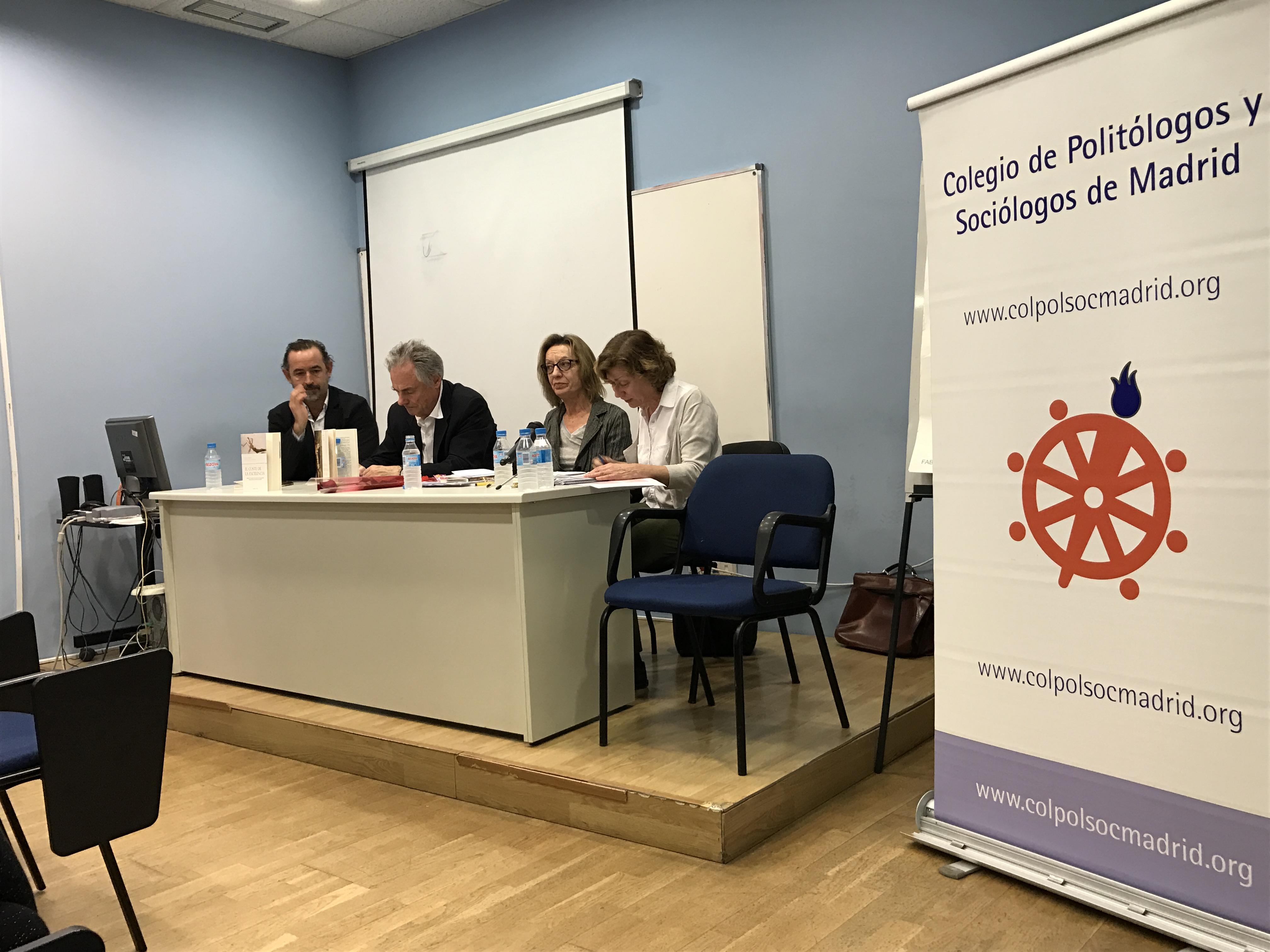 En este momento estás viendo La Sociología Clínica en el diván en el Colegio de Politólogos y Sociólogos de Madrid